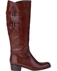 Sesto Meucci | Brown Boomer Riding Boot Tiziano Rust Leather | Lyst