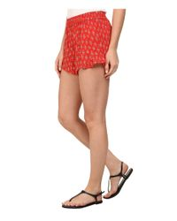 Billabong | Red Island Escape Shorts | Lyst