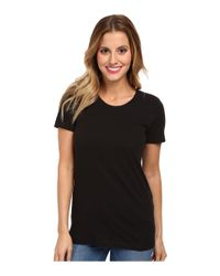 Hurley - Black Solid Perfect Classic Fit Crew - Lyst