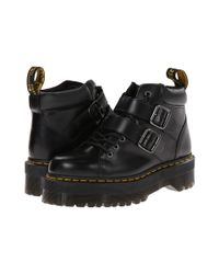 Dr. Martens - Black Bryony Lace Buckle Boot - Lyst