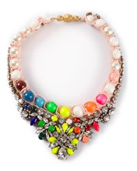 Shourouk - Multicolor Theresa Necklace - Lyst