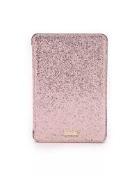 kate spade new york - Pink Glitter Bug Ipad Mini 2/3 Folio Hardcase - Rose - Lyst