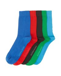 Björn Borg | Green 5 Pack Classic Plain Sock for Men | Lyst