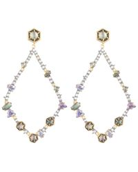 Alexis Bittar - Metallic Santa Fe Deco Xl Lucite Arrow Clipon Earrings - Lyst