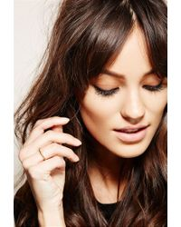 Forever 21 - Metallic Soko Twisted Bull Ring - Lyst
