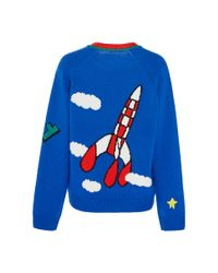 Mira Mikati - Blue Fly Sweater - Lyst