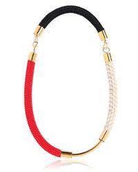 Marni - White Cording Necklace - Lyst