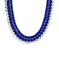 Tokyo Jane - Blue Kamma Necklace - Lyst
