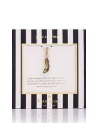 Kate Spade | Red Big Apple Charm | Lyst