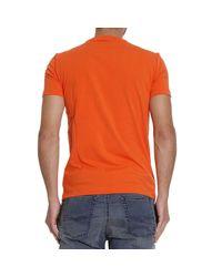 EA7   Orange T-shirt for Men   Lyst