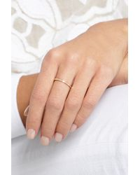 Melissa Joy Manning | Metallic 14-Karat Gold Diamond Ring | Lyst