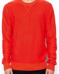 Jack Wills - Red Brockton Jumper with Crew Neck for Men - Lyst