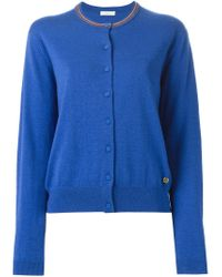 Paul by Paul Smith - Blue Round Neck Cardigan - Lyst