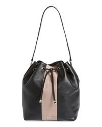 kate spade new york | Black 'bennett Street - Seren' Bucket Bag | Lyst