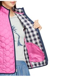 Brooks Brothers - Pink Quilted Vest - Lyst