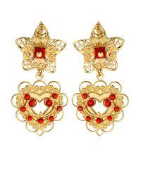 Isabel Marant | Metallic San Pedro Flower Drop Earrings | Lyst