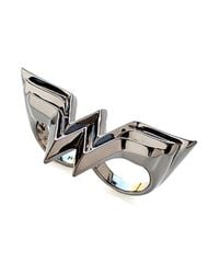 Noir Jewelry | Metallic Wonder Woman Dc Comics Two-finger Knuckle Ring | Lyst