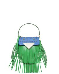Sara Battaglia - Green Small Cutie Bag - Lyst