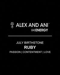 ALEX AND ANI - Yellow July Birthstone Bangle - Lyst