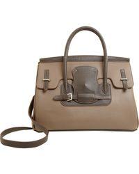 Moreau | Brown Diligence Handle Bag | Lyst