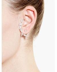 Yvonne Léon - Metallic Diamond Chain Ear Cuff - Lyst