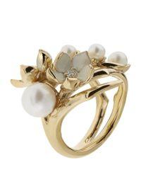 Shaun Leane | Metallic Pearl Cherry Blossom Ring | Lyst