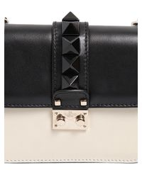 Valentino | Black 'glam Lock' Shoulder Bag | Lyst
