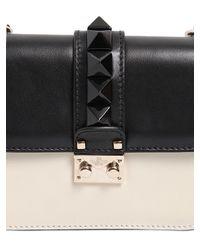 Valentino - Black 'glam Lock' Shoulder Bag - Lyst