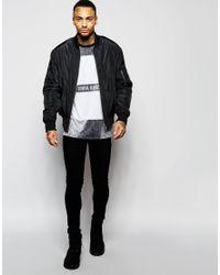 Criminal Damage - Gray Dover T-shirt for Men - Lyst