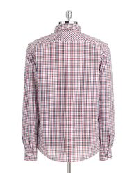 Ben Sherman | Blue Checkered Sportshirt for Men | Lyst