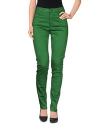 Love Moschino - Green Casual Trouser - Lyst