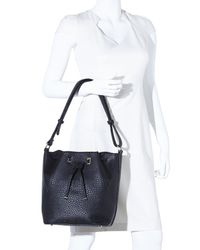 Nila Anthony - Black Bucket Bag - Lyst