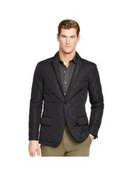 Polo Ralph Lauren | Black Quilted Sport Coat for Men | Lyst