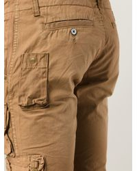 PRPS - Brown Combat Trousers for Men - Lyst