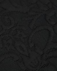 Ted Baker - Black Jacquard Midi Dress - Lyst