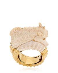 Bibi Van Der Velden | Natural Seahorse Ring | Lyst