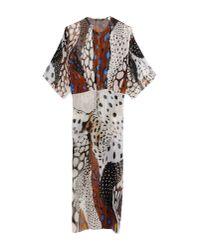 Roberto Cavalli | White Long Dress | Lyst