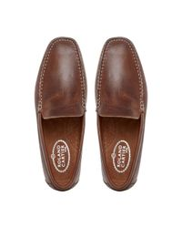 Roland Cartier | Brown Remingtons Plain Front Moccasins for Men | Lyst