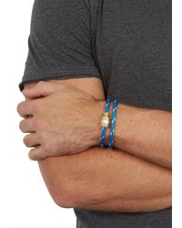 Miansai | Casings Blue Rope Wrap Bracelet for Men | Lyst