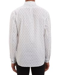 Marc By Marc Jacobs | White Hamburger Dotprint Shirt for Men | Lyst