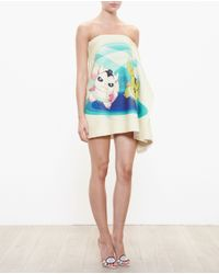 Awake - Multicolor Bad Yoda Mini Dress - Lyst