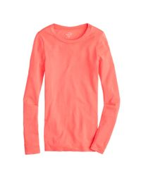 J.Crew - Purple Perfect-fit Long-sleeve T-shirt - Lyst
