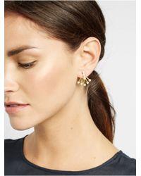 BaubleBar - Metallic Pearl Broom Ear Jackets - Lyst