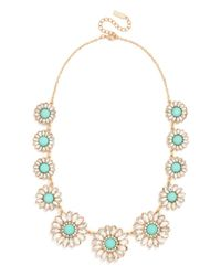 BaubleBar - Green Mint Wallflower Strand - Lyst