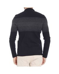 Emporio Armani | Blue Giorgio Armani Men's Sweater for Men | Lyst