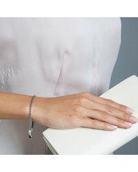 Astley Clarke | Metallic Onyx Woven Biography Bracelet | Lyst