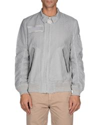 Sacai - Gray Jacket for Men - Lyst