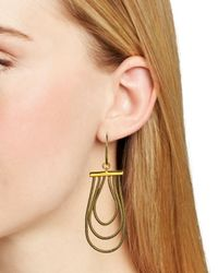 Diane von Furstenberg | Metallic Gemma Chandelier Earrings | Lyst