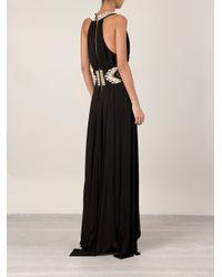 Balmain - Black Evening Gown - Lyst