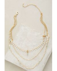 Anthropologie | Metallic Vittoria Layered Choker | Lyst